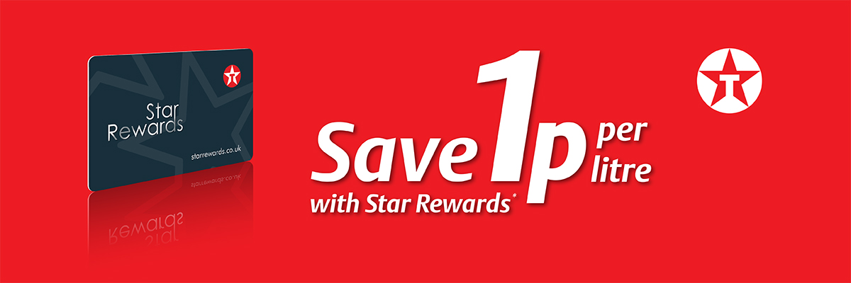Save 1p per litre with Star Rewards